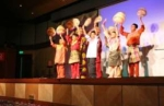 Before the winners were announced, the children from the National Autism Society of Malaysia (NASOM), dressed in their 'baju Melayu' and gave a lively performance.