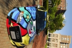 Audi A4 friendship car designed by Romero Britto