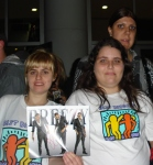 Best Buddies participants were really excited when they were invited to see knew Chris Brown concert in Sao Paolo. For most of them, this was their first international concert.