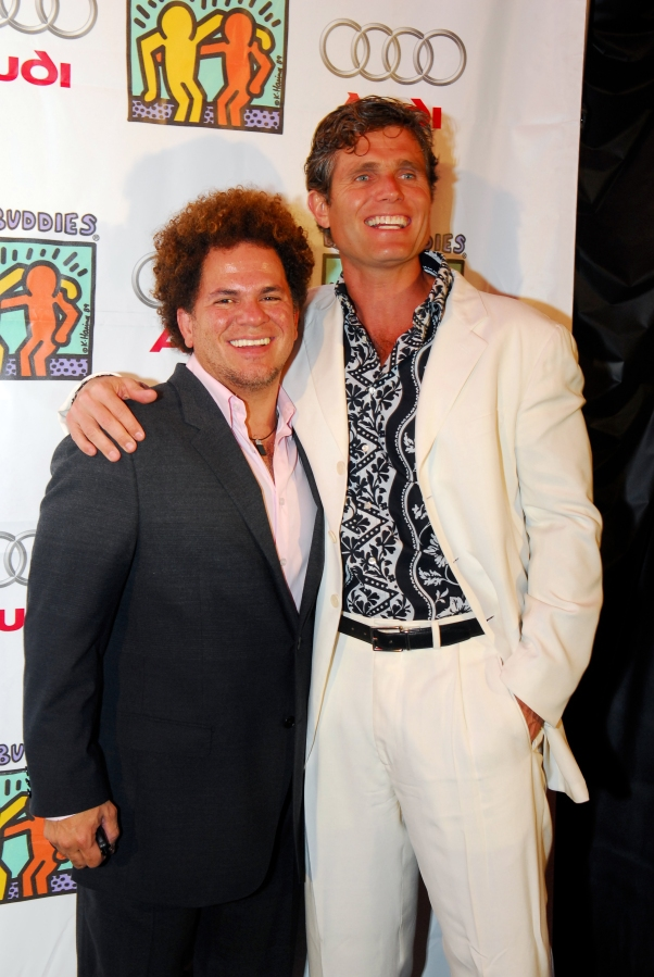 Romero Britto and Anthony Kennedy Shriver