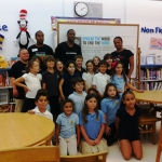 Mario Chalmers with Key Biscayne Community School