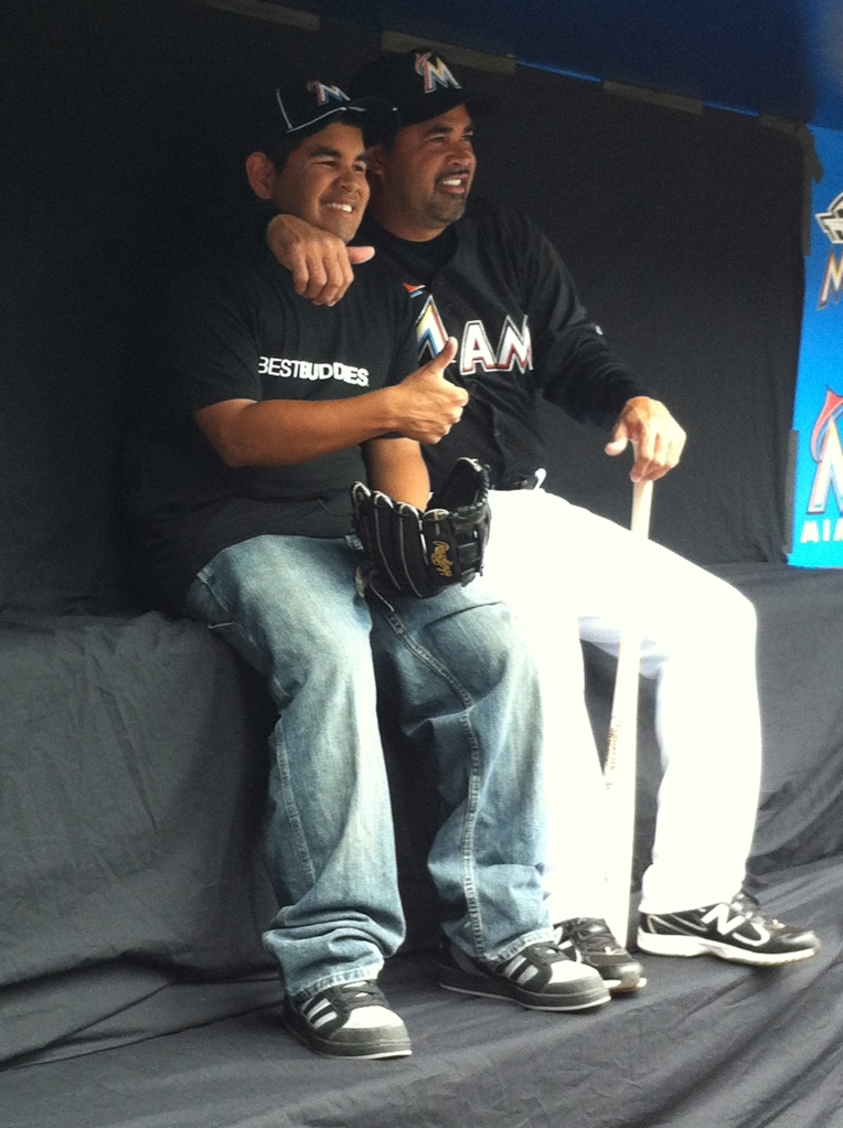 Kristian Chima and Ozzie Guillen