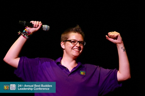 Tessa Erkens from Best Buddies Netherlands