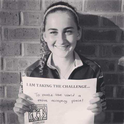 Grace Hamilton, Chapter President for Bishop Ireton High School Best Buddies