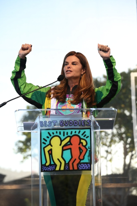 Maria Shriver at the 10th Anniversary Best Buddies Challenge: Hearst Castle