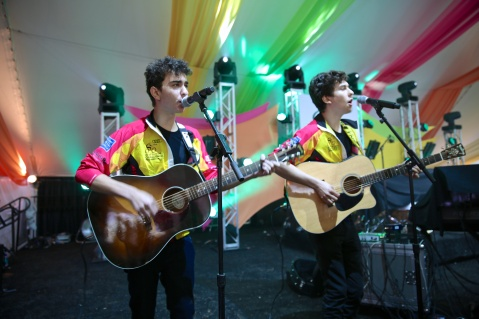 Nate & Alex Wolff at the Audi Best Buddies Challenge: Washington, D.C.
