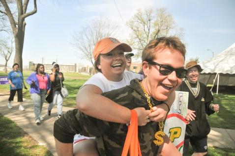Paige Randolph & Matt Burns at the Best Buddies Friendship Walk