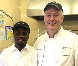 Ruben & Supervisor, Kevin Costello, Corporate Executive Chef at Hobbs Brook