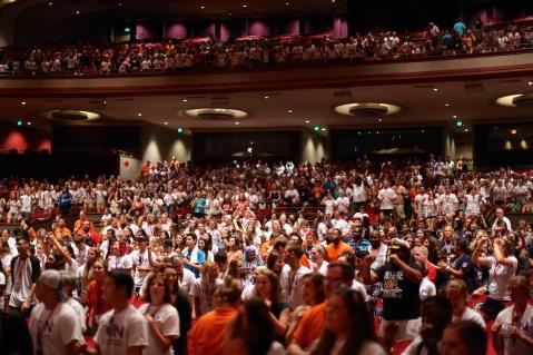 Indiana University Auditorium Opening Ceremonies | Photo by John David Arroyo, Best Buddies International